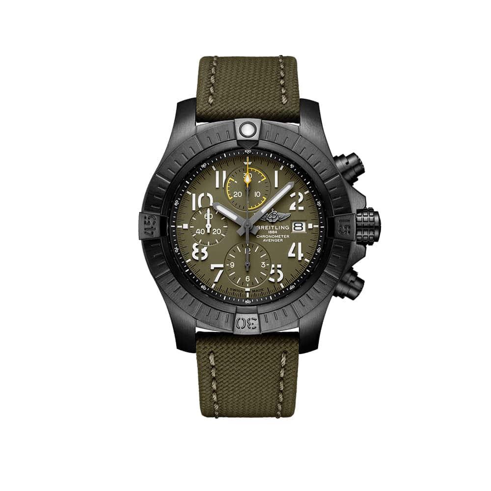 Часы Avenger Chronograph 45 Night Mission Breitling V13317101L1X1 - 1