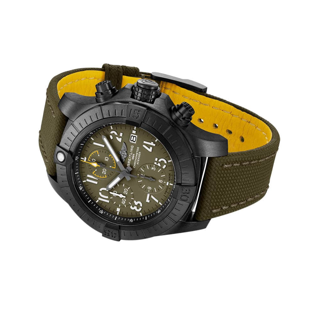 Часы Avenger Chronograph 45 Night Mission Breitling V13317101L1X1 - 2