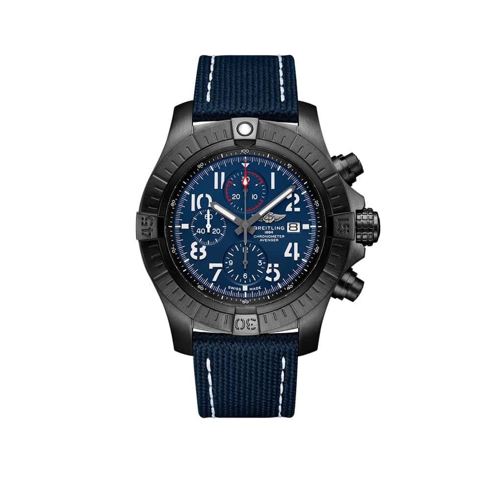 Часы Super Avenger Chronograph 48 Night Mission Breitling V13375101C1X2 - 1