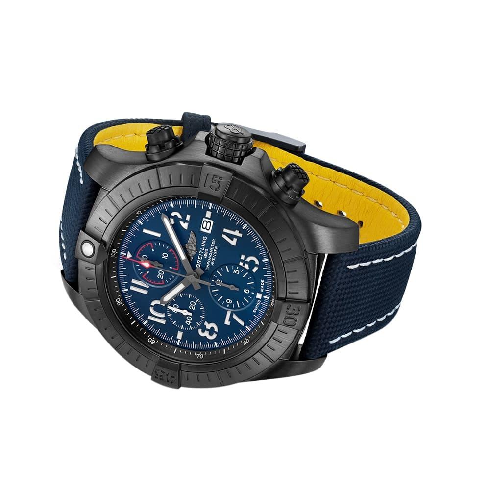 Часы Super Avenger Chronograph 48 Night Mission Breitling V13375101C1X2 - 2