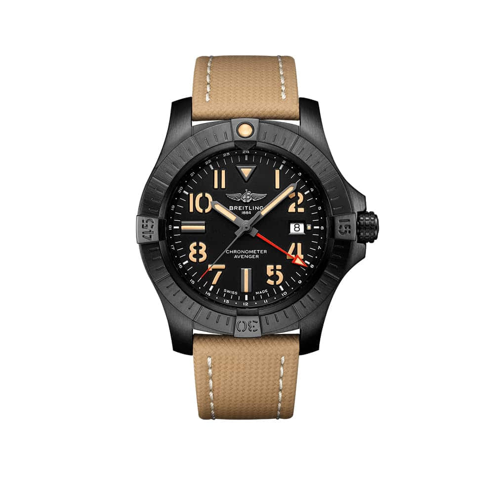 Часы Avenger Automatic GMT 45 Night Mission
