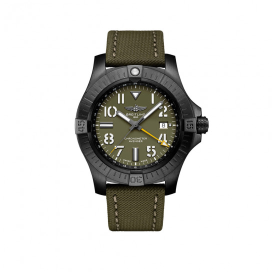 Часы Avenger Automatic GMT 45 Night Mission Limited Edition