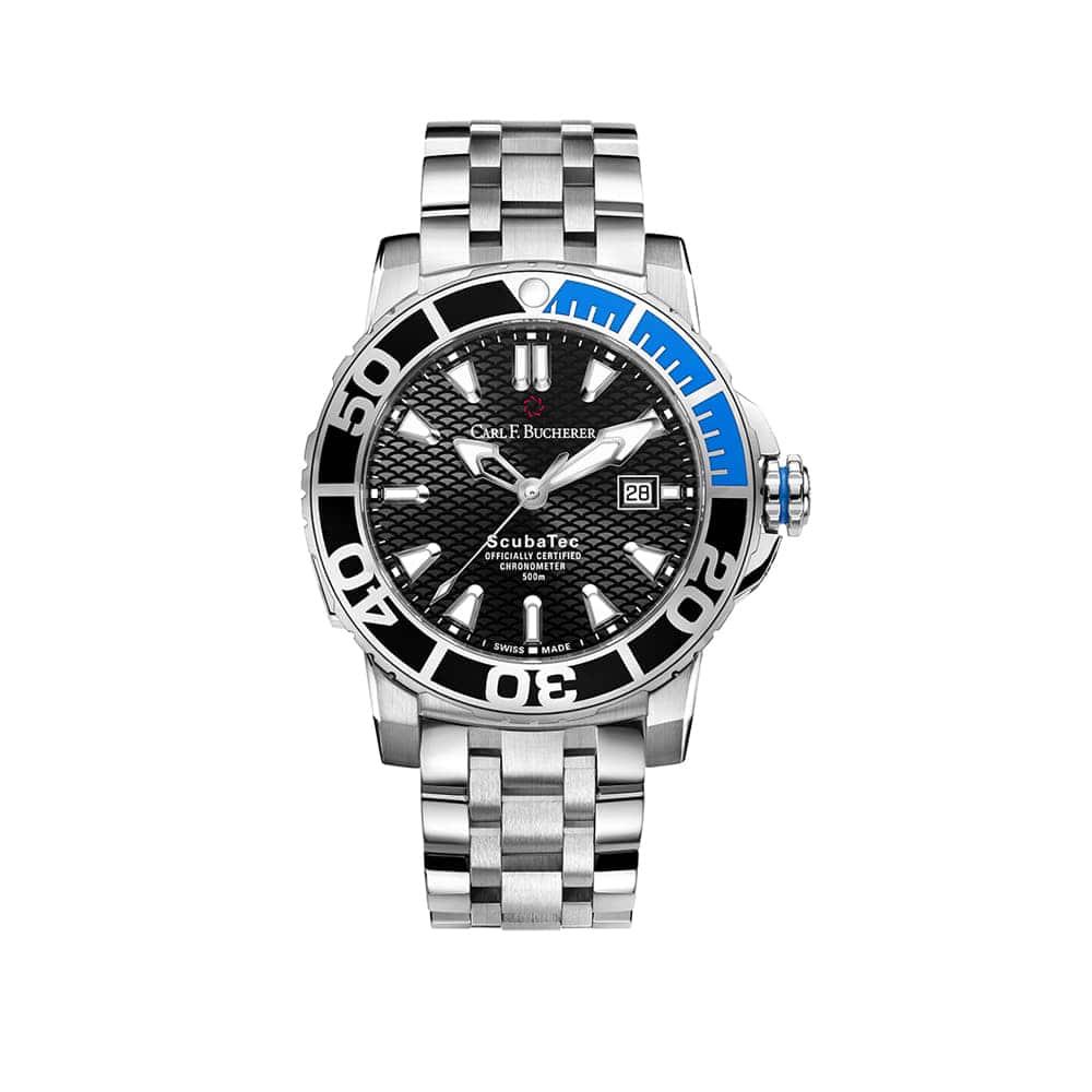 Часы Patravi ScubaTec  Carl F. Bucherer 00.10632.23.33.21