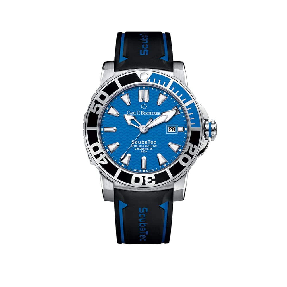 Часы Patravi ScubaTec  Carl F. Bucherer 00.10632.23.53.01