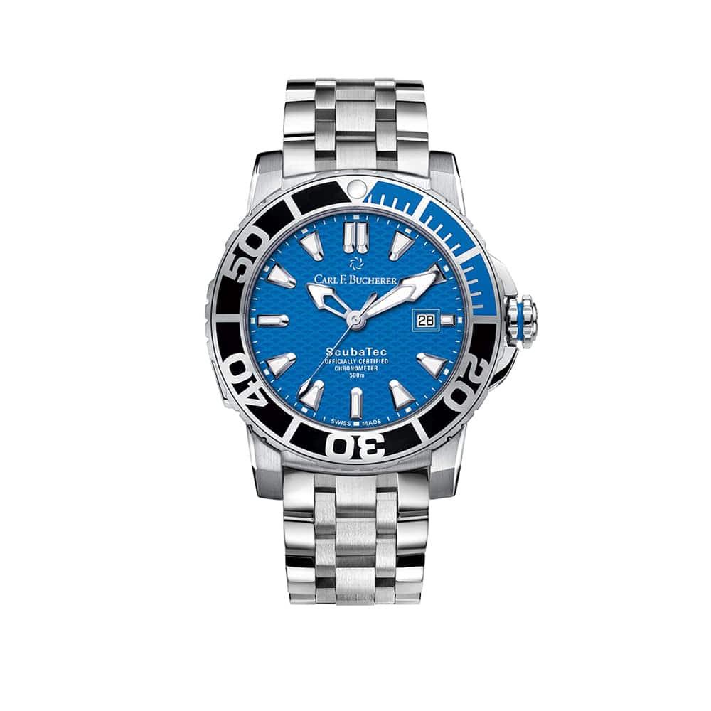 Часы Patravi ScubaTec  Carl F. Bucherer 00.10632.23.53.21
