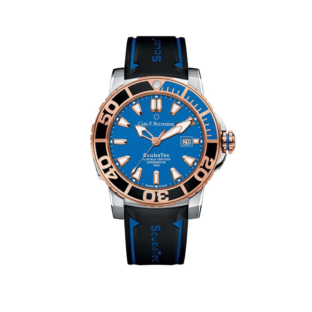 Часы Patravi ScubaTec  Carl F. Bucherer 00.10632.24.53.01
