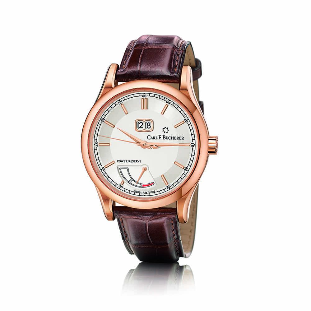 Часы Manero BigDate Power  Carl F. Bucherer 00.10905.03.13.01