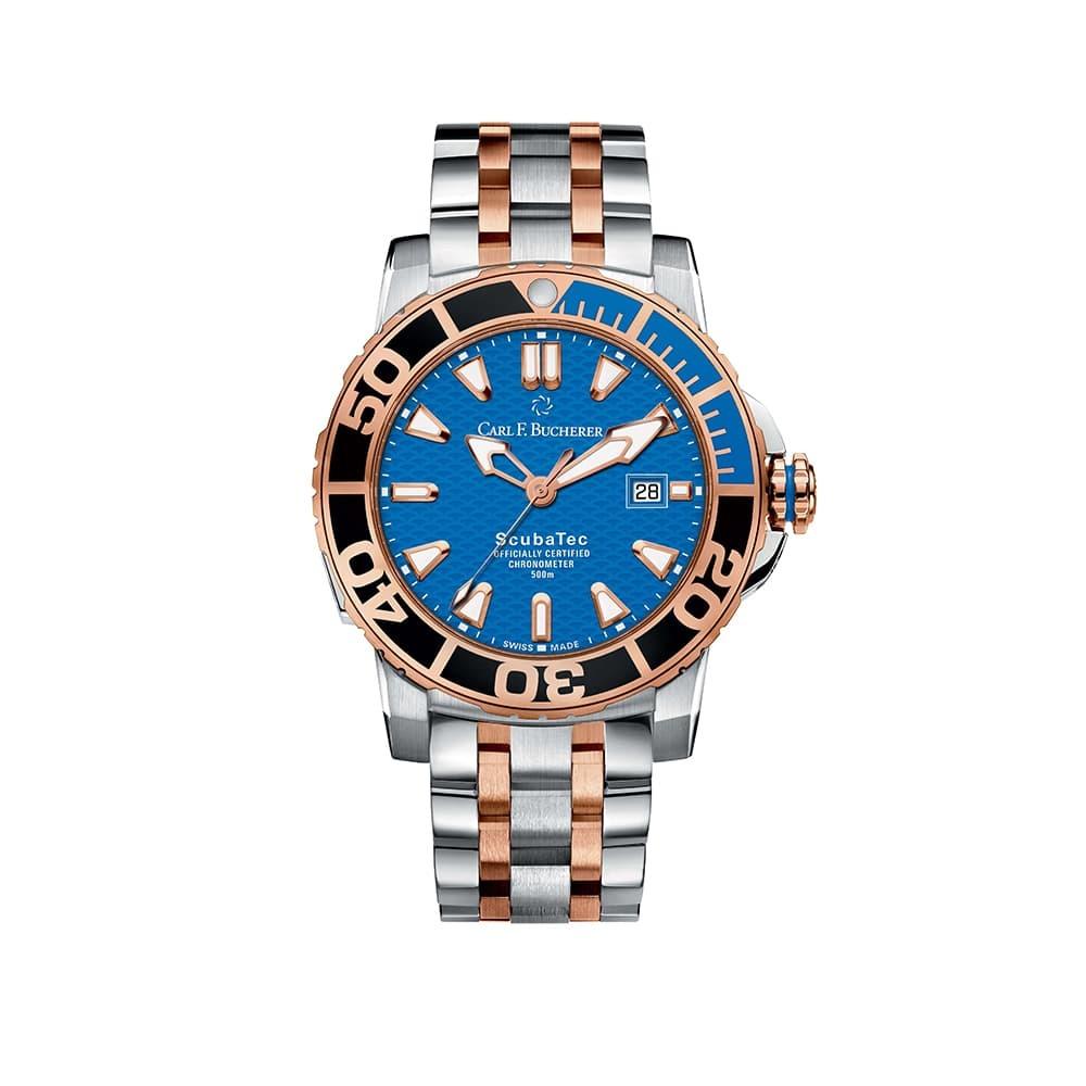 Часы Patravi ScubaTec  Carl F. Bucherer 00.10632.24.53.21