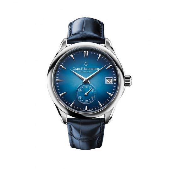 Часы Manero Peripheral Blue Edition