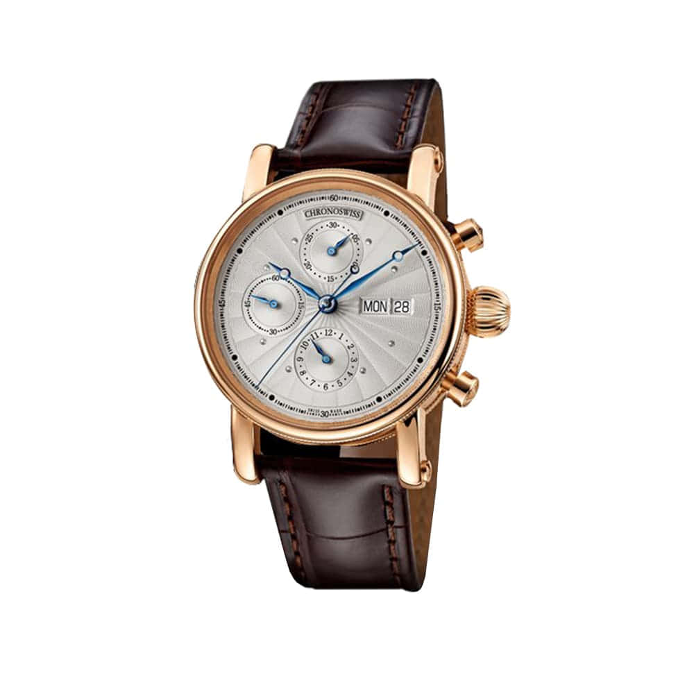 Часы  SIRIUS Chronograph Date Day Chronoswiss CH 7541 KR-ENG