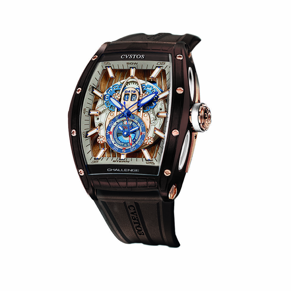 Часы Challenge  GT Sealiner GMT Brown Sea Cvstos Challenge  GT Sealiner GMT BROWN SEA - 2