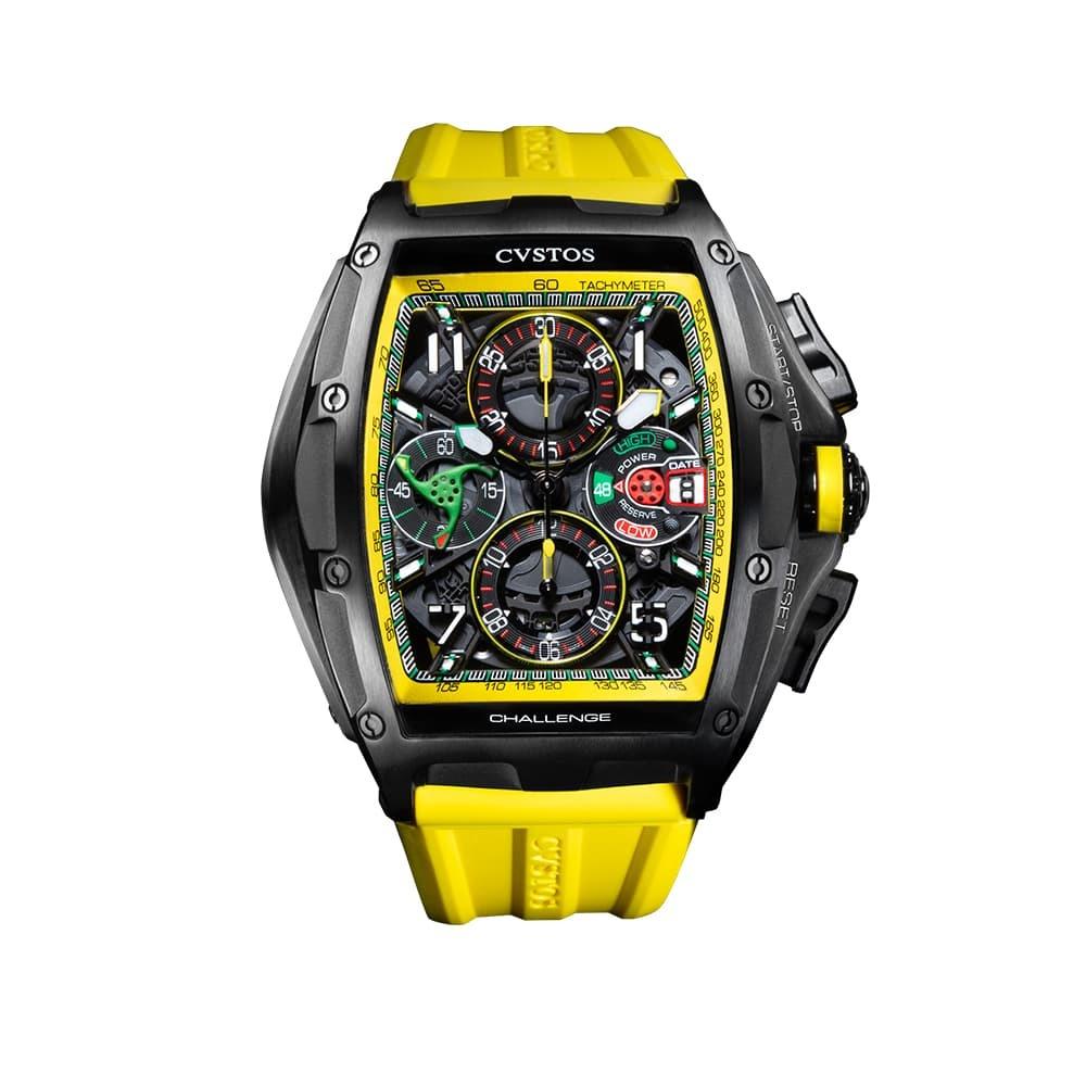 Часы Challenge III Chronograph S Yellow Cvstos Challenge III Chrono - 1
