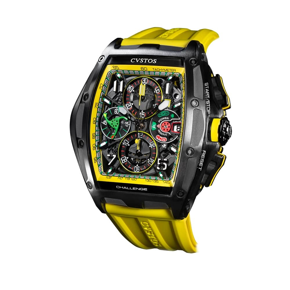 Часы Challenge III Chronograph S Yellow Cvstos Challenge III Chrono - 2