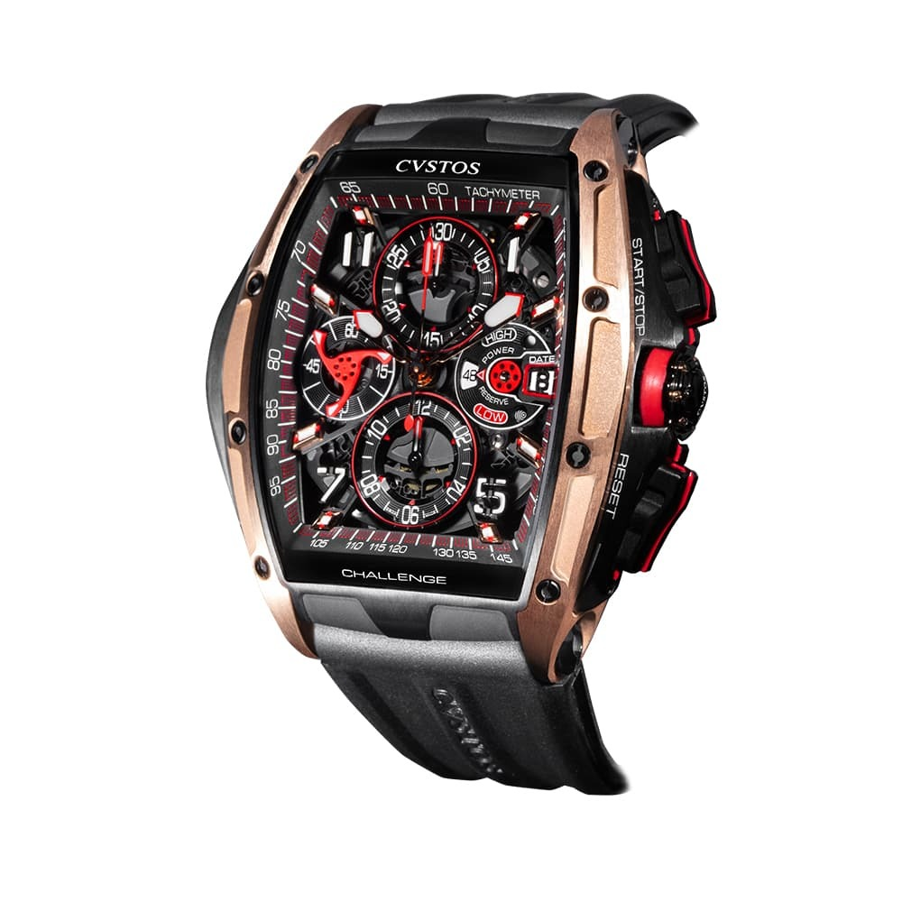 Часы Challenge III Chronograph S Titan/Gold Cvstos Challenge III Chrono S - 2