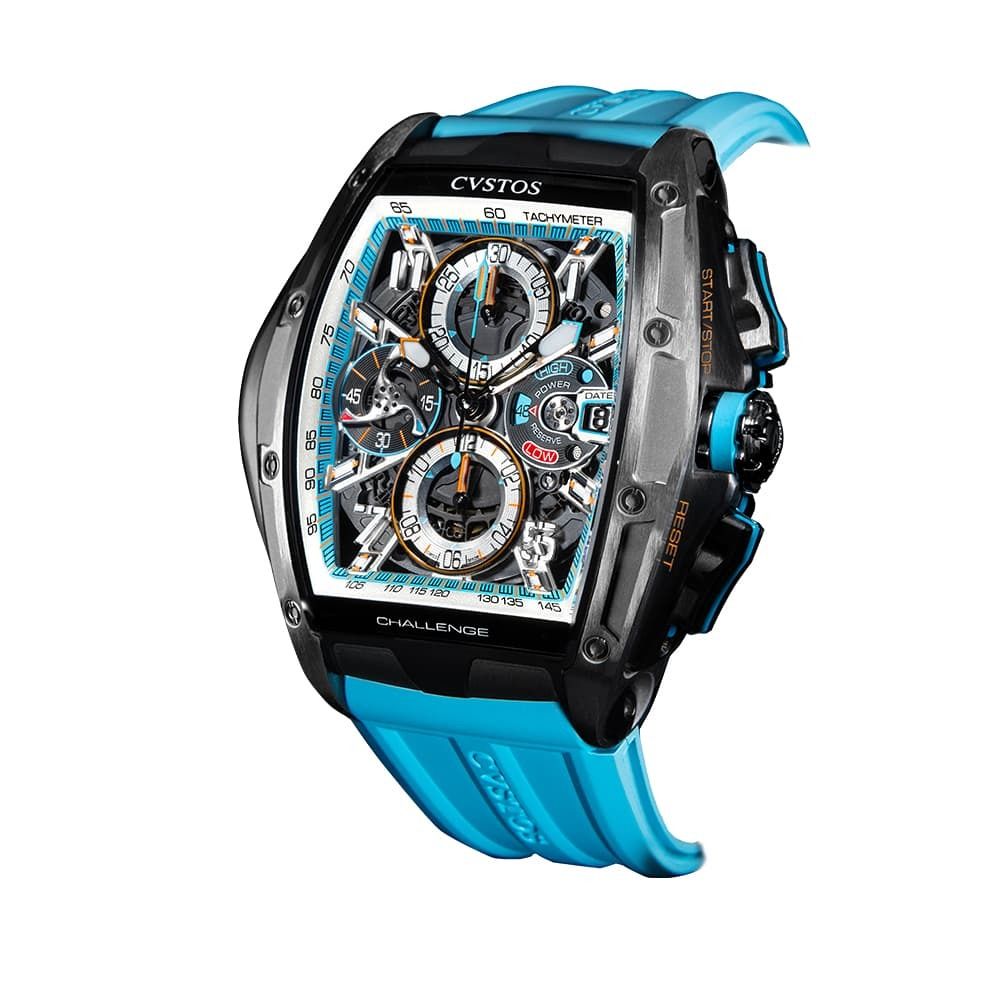 Часы Challenge III Chronograph S Blue Cvstos Challenge III Chrono S - 3