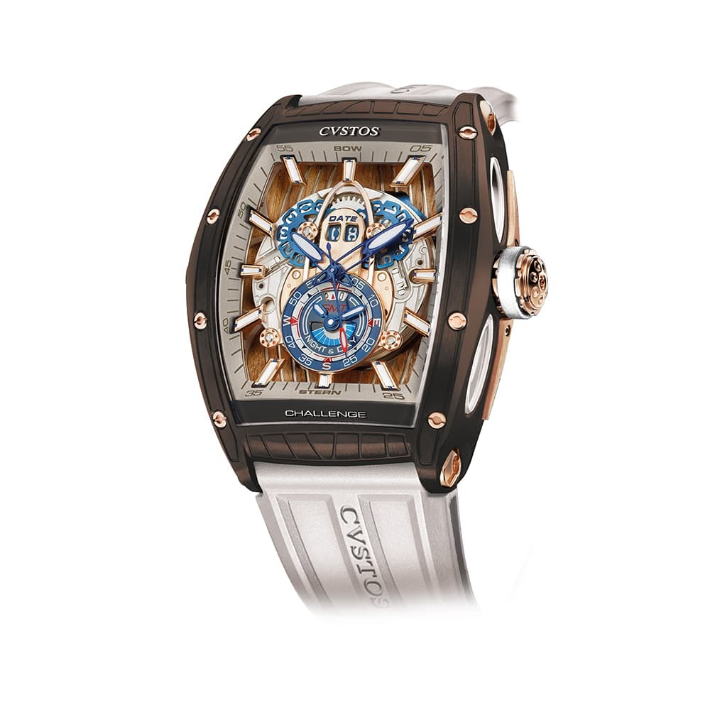 Часы Challenge  GT Sealiner GMT Brown Sea Cvstos Challenge  GT Sealiner GMT BROWN SEA - 1