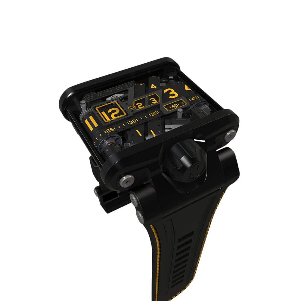 Часы TREAD 1 Devon TREAD1-F QSS Blk/Ylw