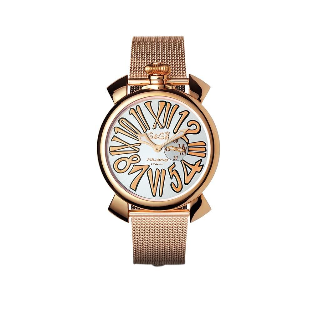 Часы Manuale Slim 46mm Gagà Milano 5081.2