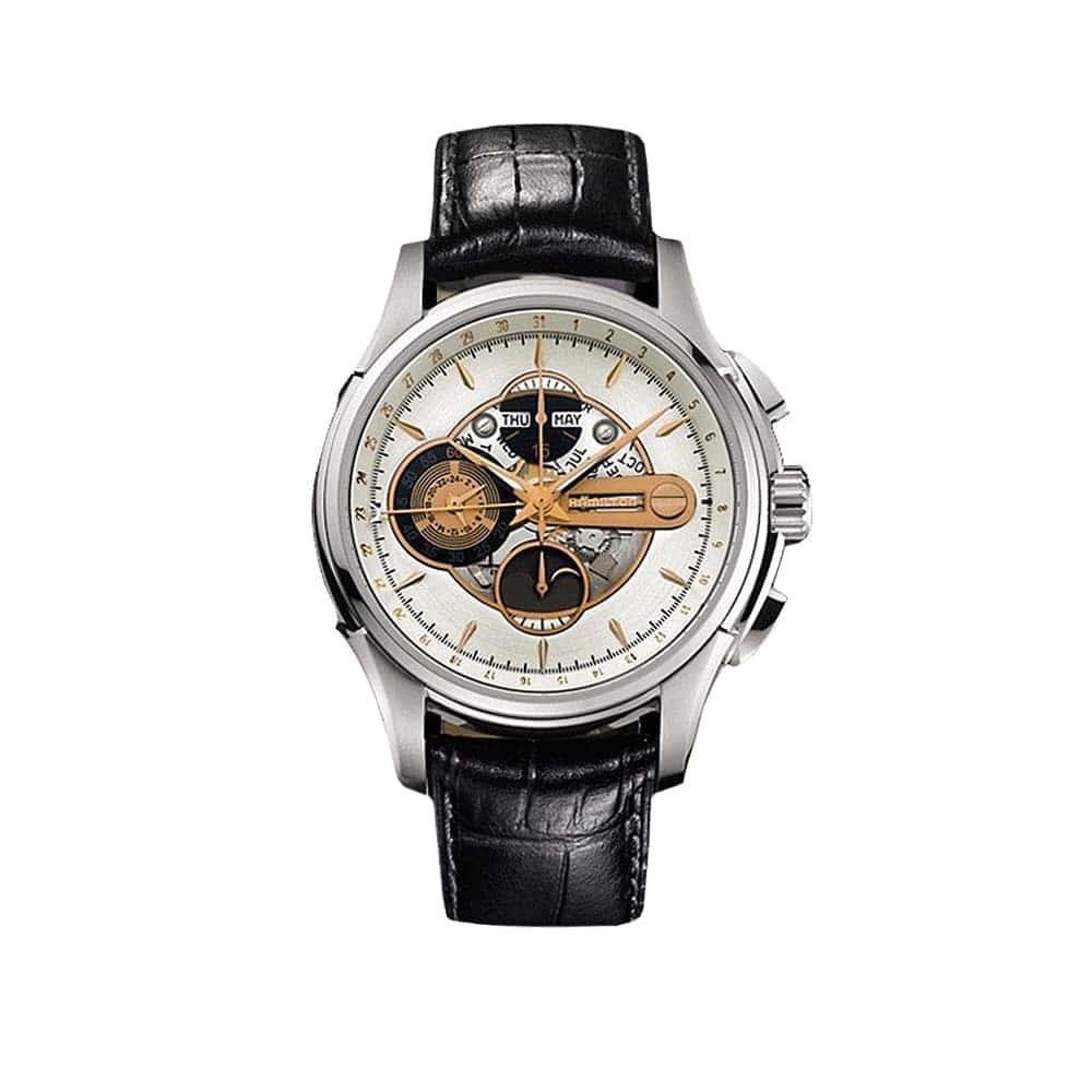 Часы JazzMaster Moonphase Chrono Auto Hamilton H32696751