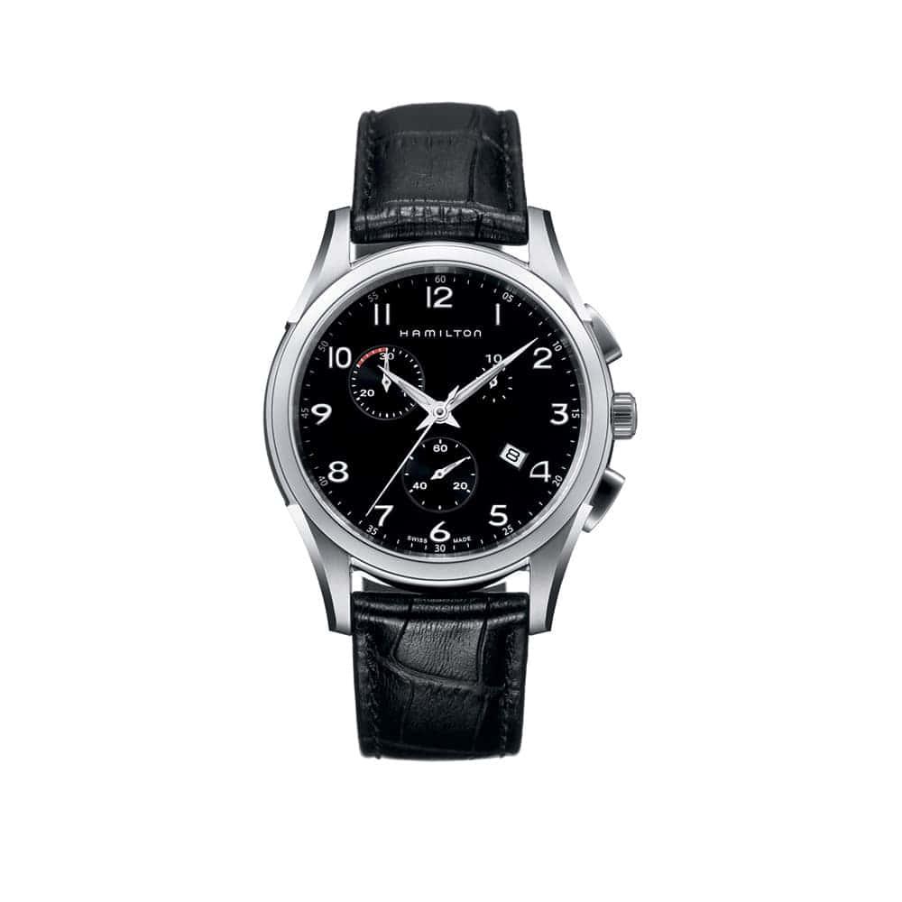 Часы  JazzMaster Thinline Chrono Quartz Hamilton H38612733