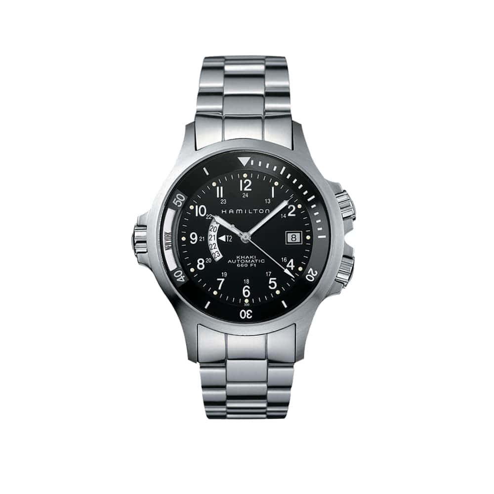 Часы Khaki Navy GMT Auto Hamilton H77615133