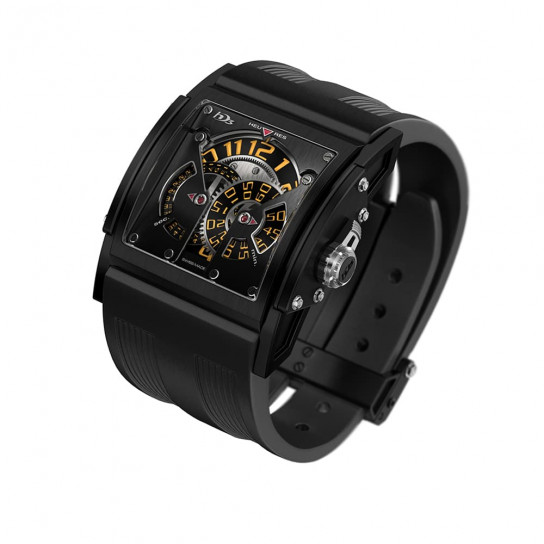 Часы  Three Minds Titanium Black PVD Orange