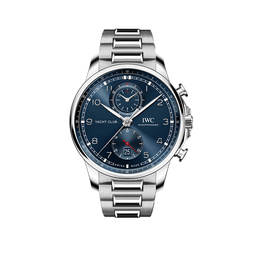 Часы Portugieser Yacht Club Chronograph IWC Schaffhausen IW390701 - 1