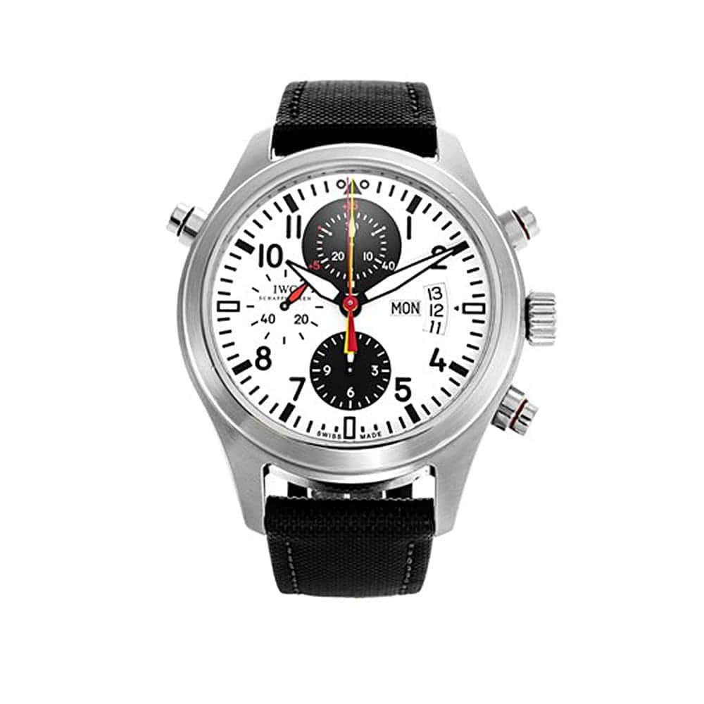 Часы Pilot's Watch Double Chronograph DFB IWC Schaffhausen IW371803