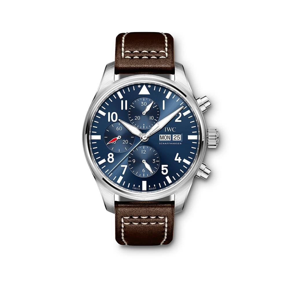 "Часы Pilot's Watch Chronograph Edition ""Le Petit Prince"" IWC Schaffhausen IW377714"
