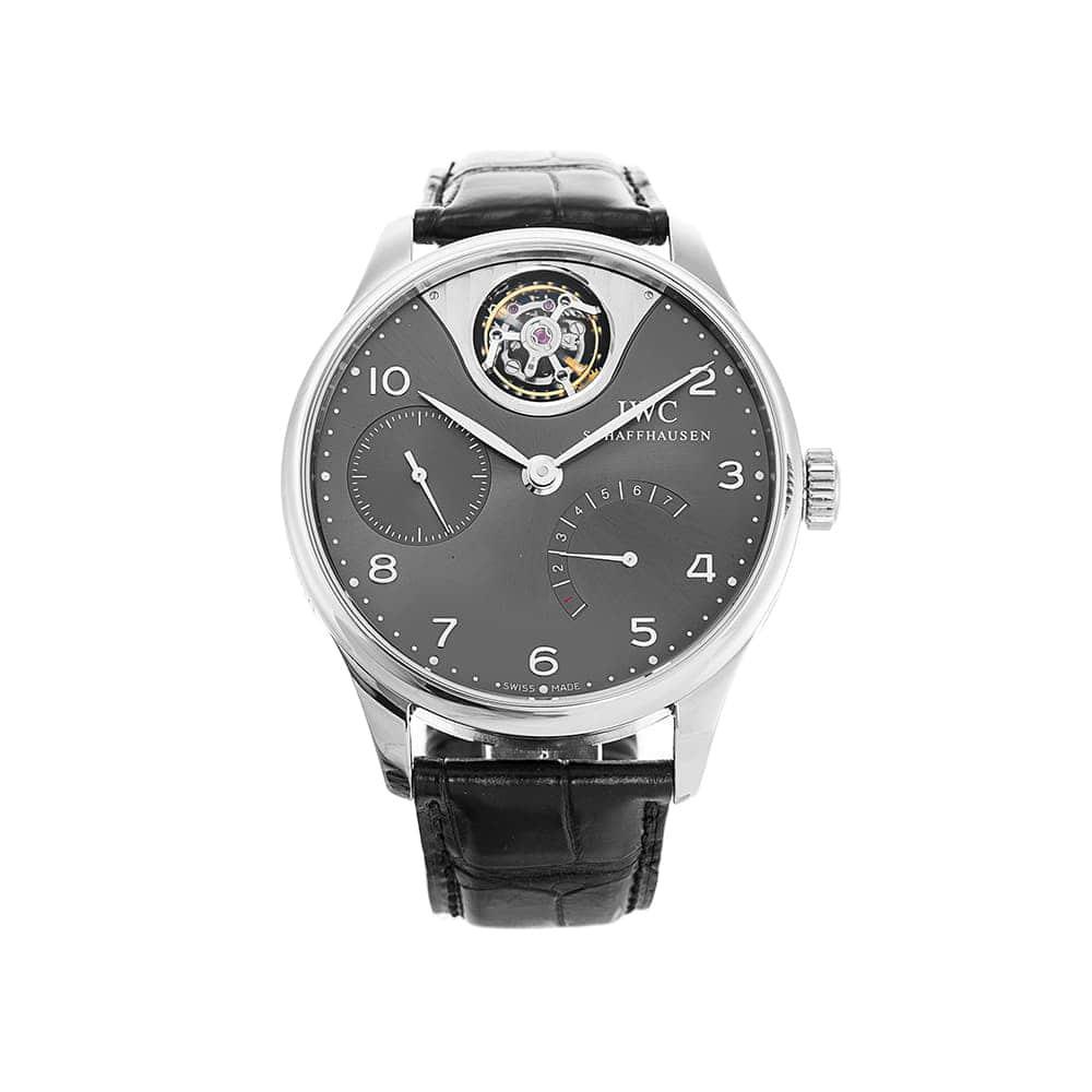 Часы Portuguese Tourbillon Mystere IWC Schaffhausen IW504207