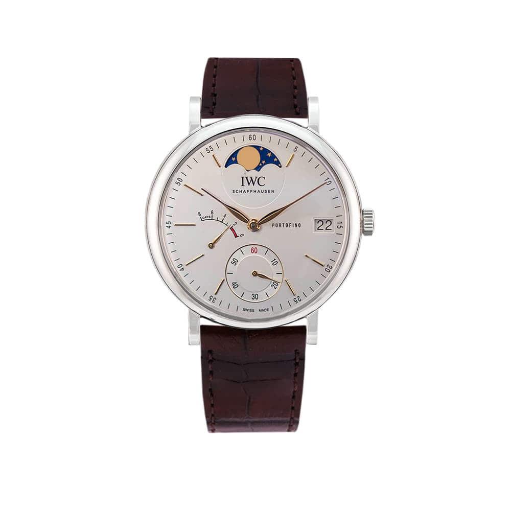 Часы Portofino Hand-Wound Moon Phase IWC Schaffhausen IW516401