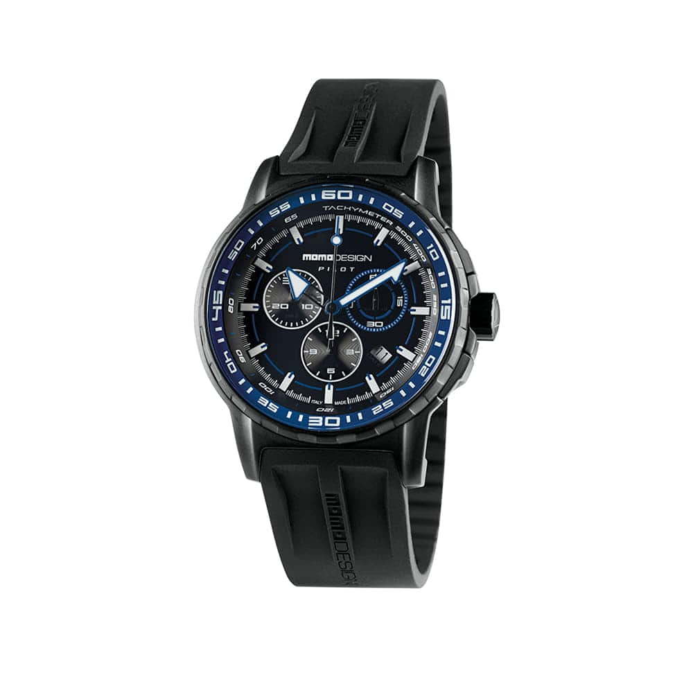 Часы PILOT PRO CHRONO BLACK MOMODESIGN MD2164BK-21