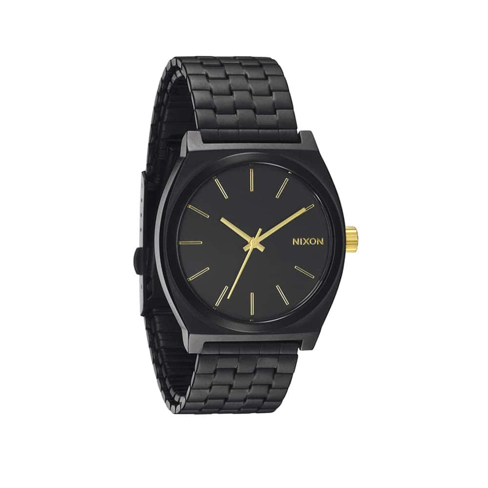 Часы A045-2041 TIME TELLER Matte Black NIXON A045-2041