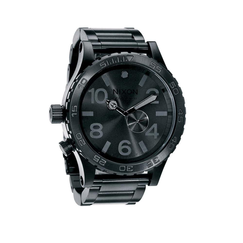 Часы A057-1001 51-30 All Black  NIXON A057-1001