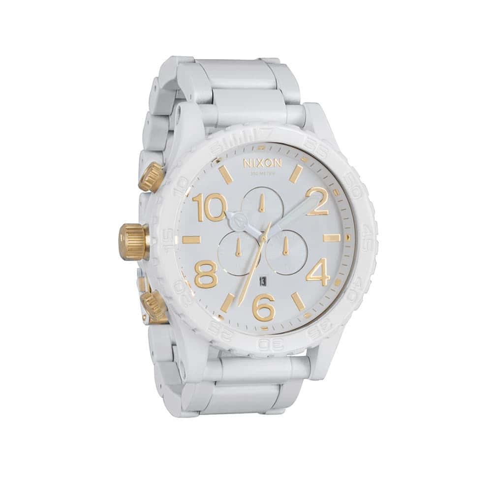 Часы A083-2035 5130 CHRONO All White/Gold NIXON A083-2035
