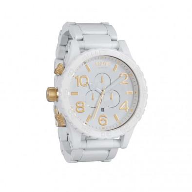 Часы A083-2035 5130 CHRONO All White/Gold