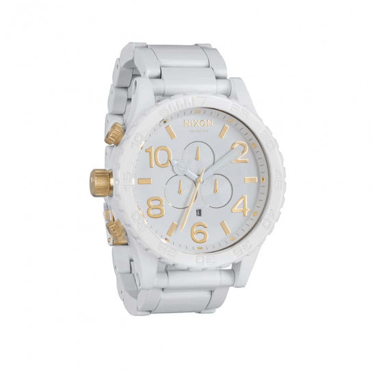 Часы A083-2035 5130 CHRONO All White/Gold