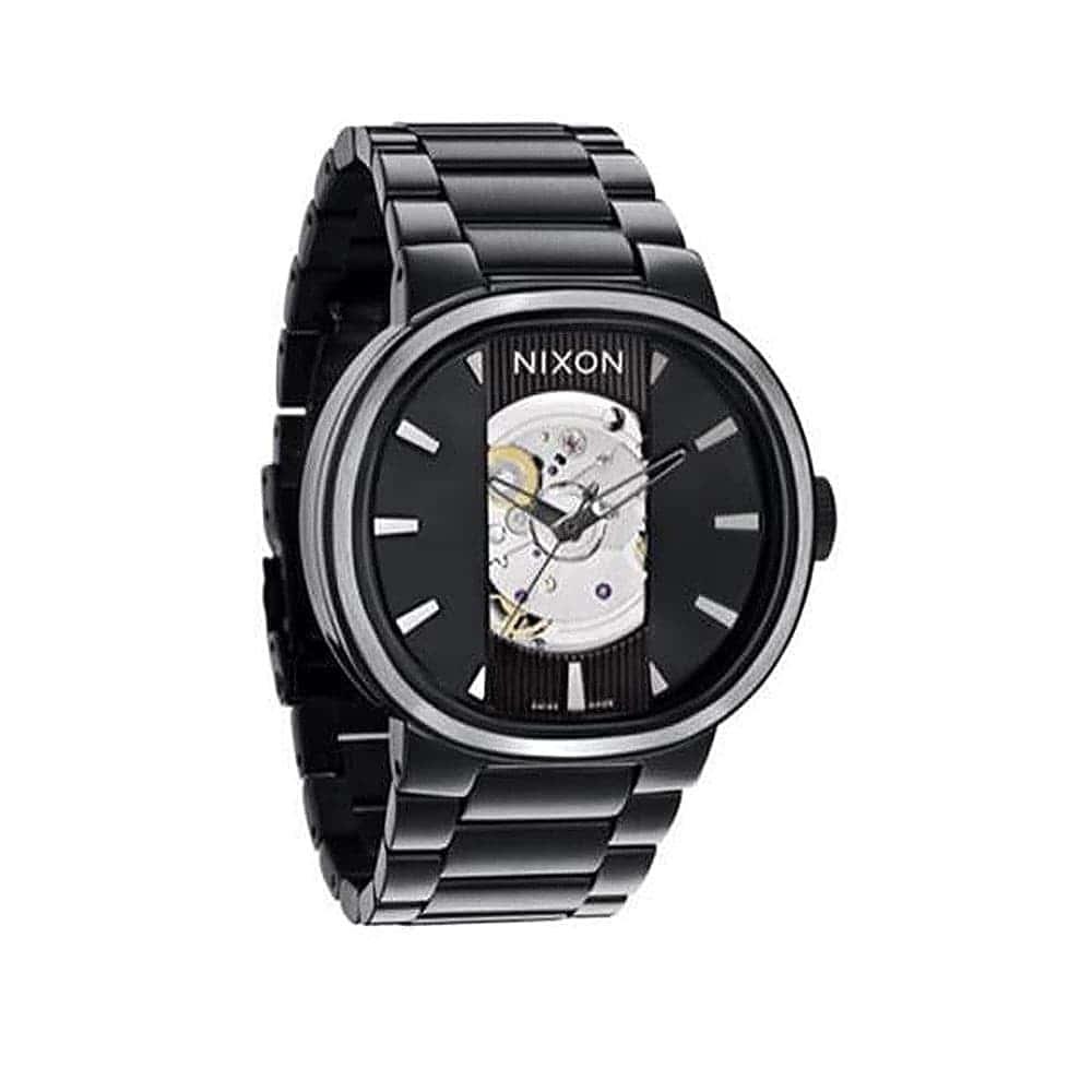 Часы A089-1001 CAPITAL AUTOMATIC All Black NIXON A089-1001