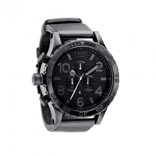 Часы A124-1000 51-30 CHRONO LEATHER Black