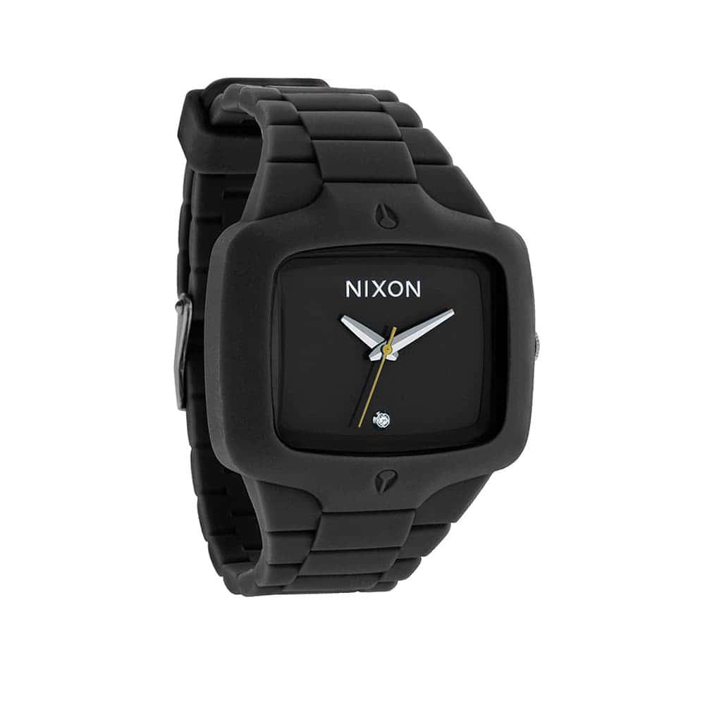 Часы A139-1000 RUBBER PLAYER Black NIXON A139-1000