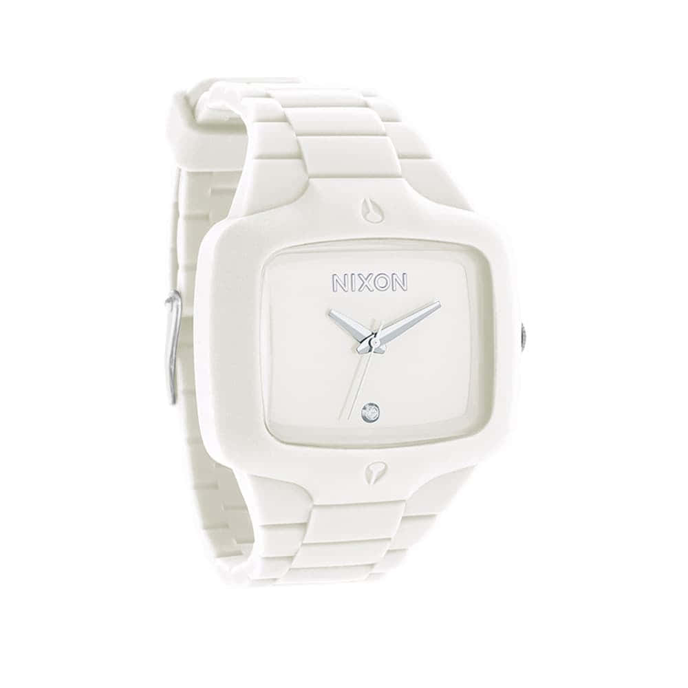 Часы A139-1100 RUBBER PLAYER White NIXON A139-1100