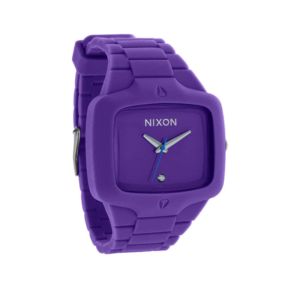 Часы A139-1230 RUBBER PLAYER Purple NIXON A139-1230