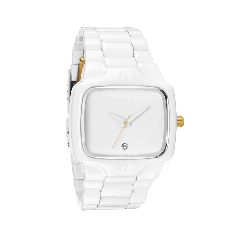 Часы A140-2035 PLAYER All White/Gold NIXON A140-2035