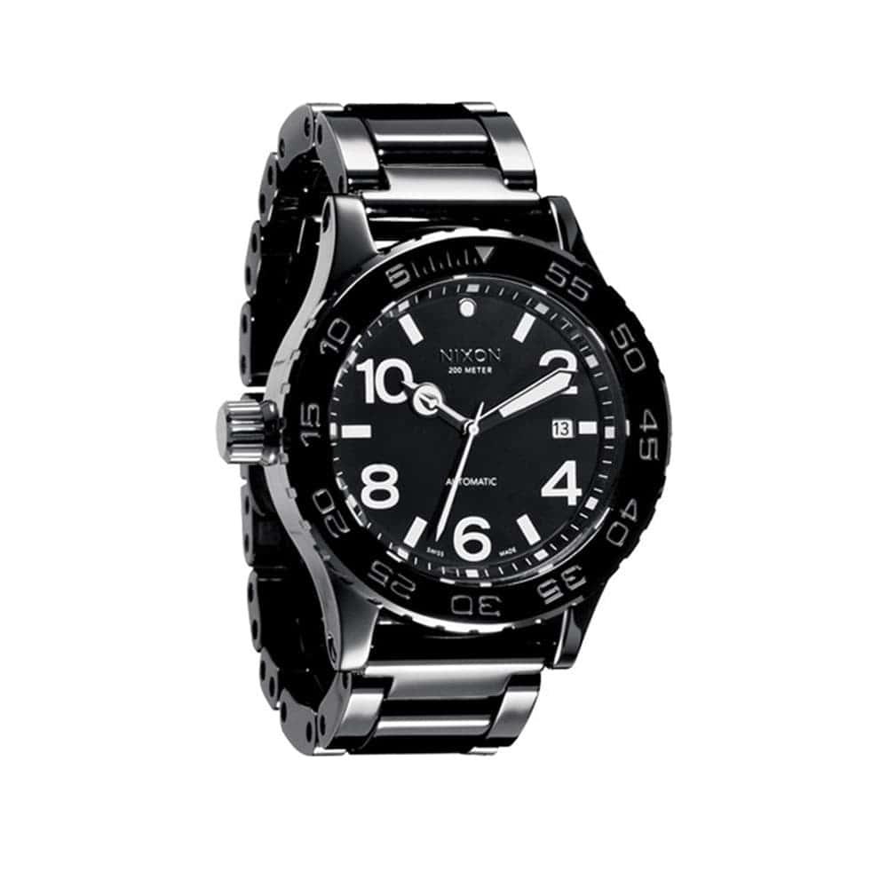 Часы A148-1001 CERAMIC 42-20 All Black NIXON A148-1001