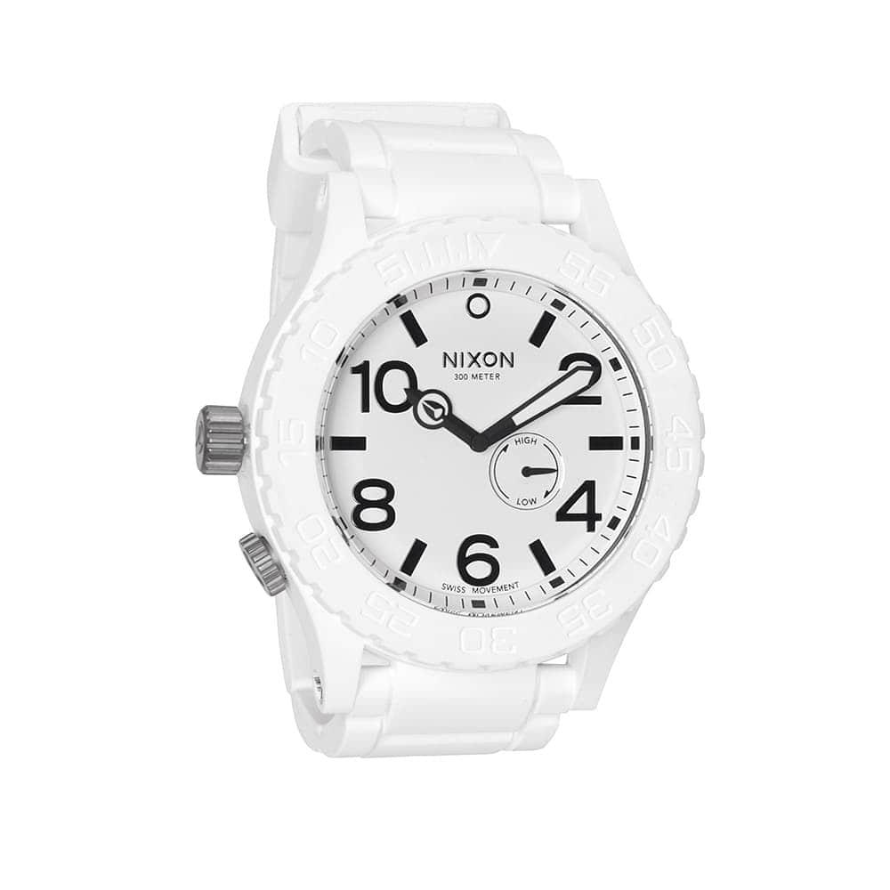 Часы A236-1100 RUBBER 51-30 White NIXON A236-1100