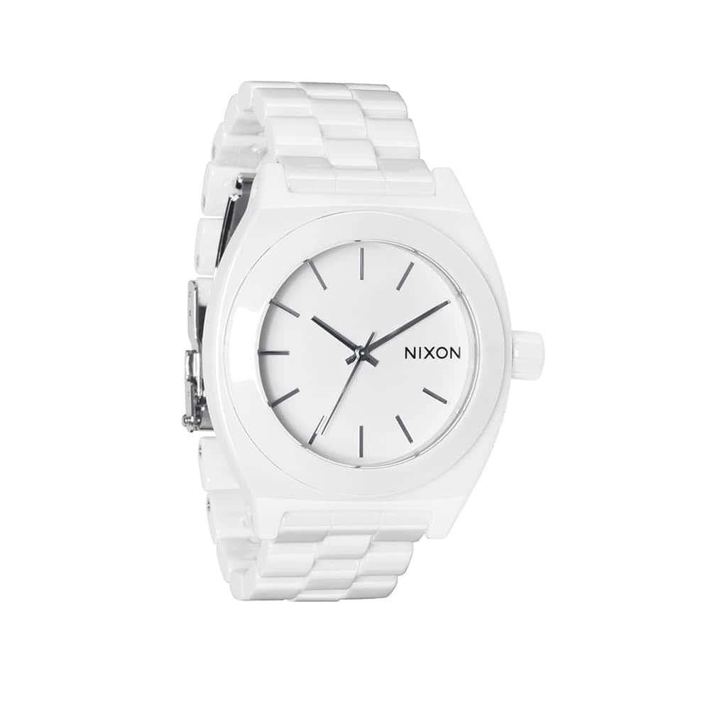Часы A250-1100 CERAMIC TIME TELLER White NIXON A250-1100