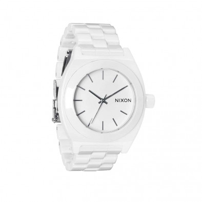 Часы A250-1100 CERAMIC TIME TELLER White