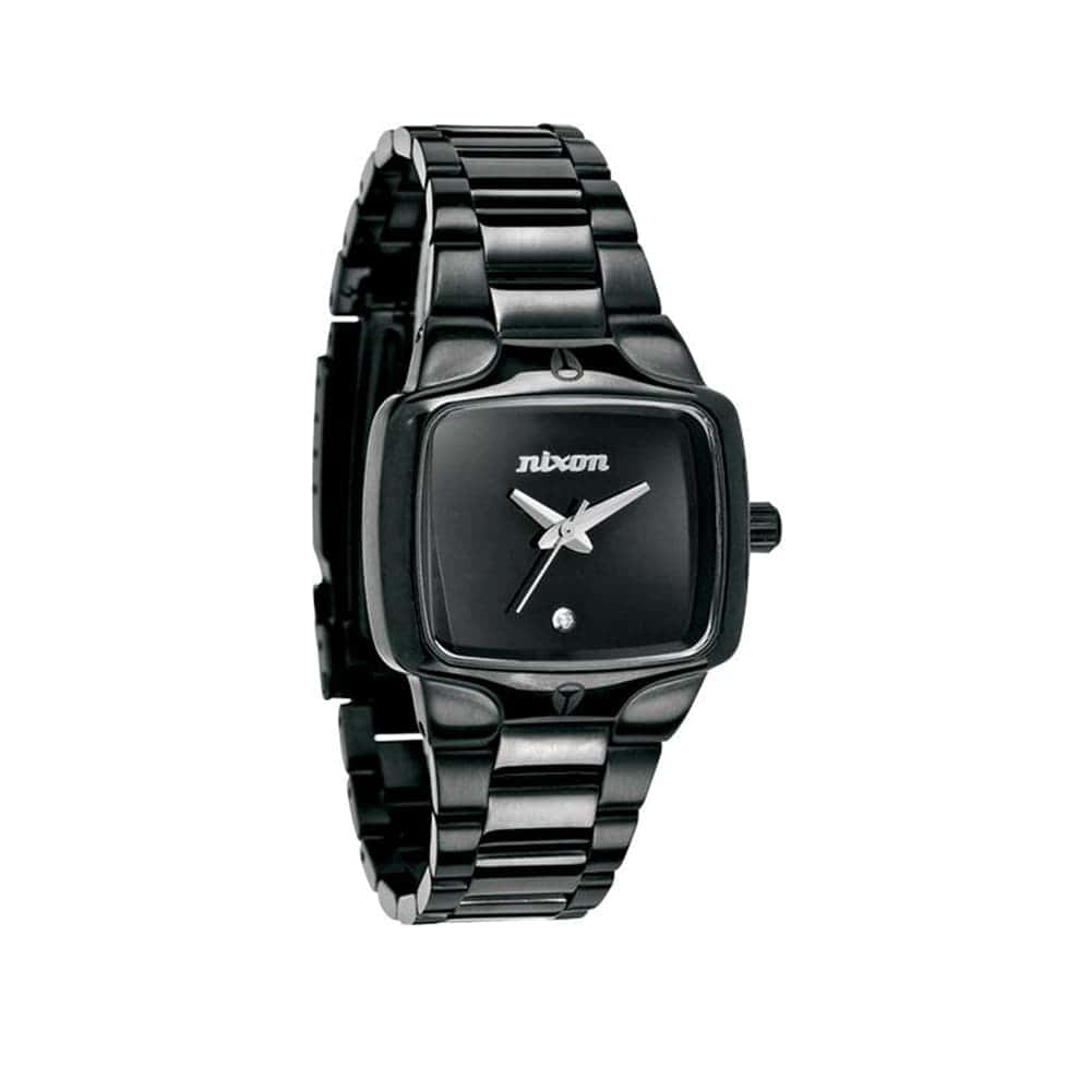 Часы A300-1001 SMALL PLAYER All Black NIXON A300-1001