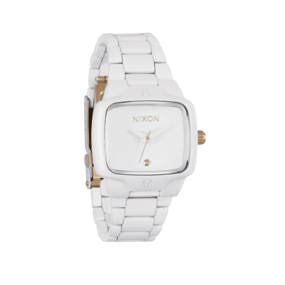 Часы A300-2035 SMALL PLAYER All White/Gold NIXON A300-2035