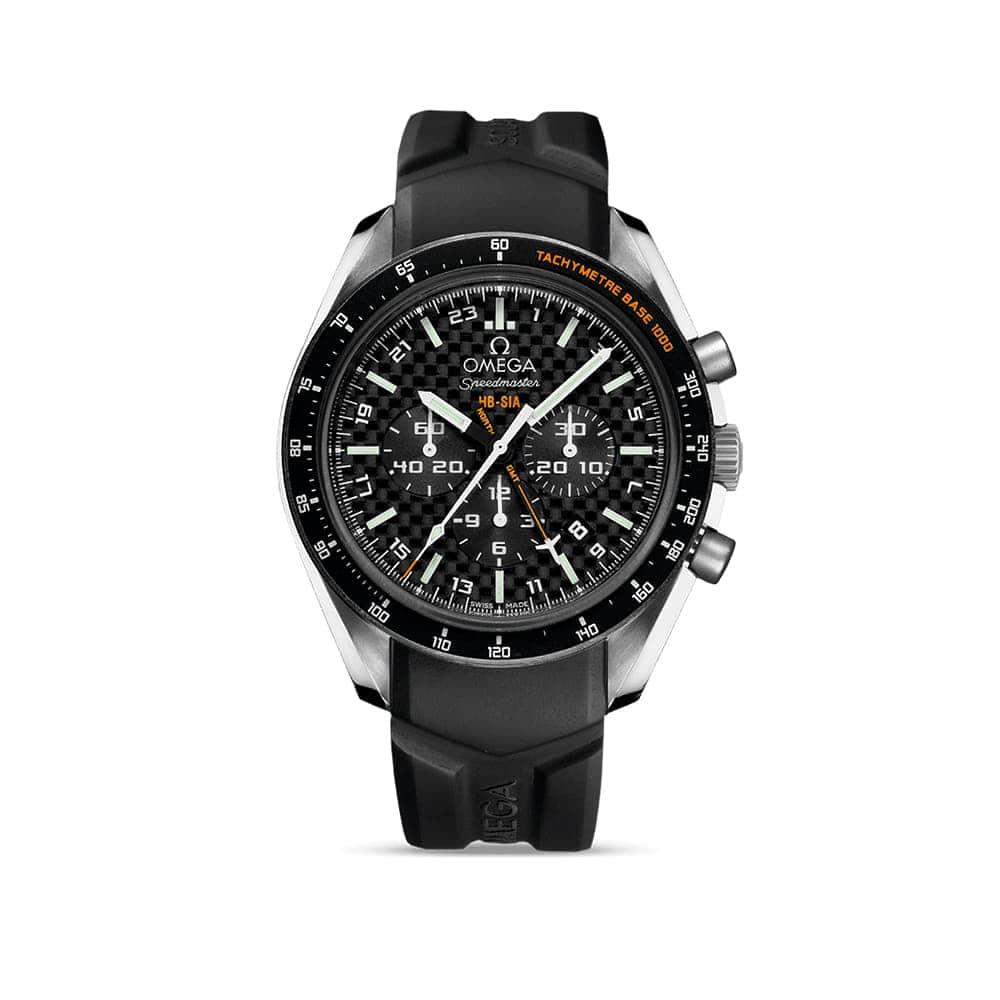 Часы Speedmaster HB-SIA Co-Axial GMT Chronograph Omega 321.92.44.52.01.001